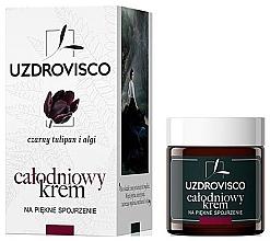 Voňavky, Parfémy, kozmetika Denný/nočný krém na oči - Uzdrovisco Black Tulip i Algi Eye cream