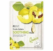Voňavky, Parfémy, kozmetika Upokojujúca pleťová maska s dule - SNP Fruits Gelato Soothing Mask
