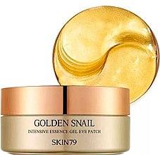 Voňavky, Parfémy, kozmetika Hydrogélové vankúšiky s extraktom zo slimáka - Skin79 Golden Snail Intensive Essence Gel Eye Patch