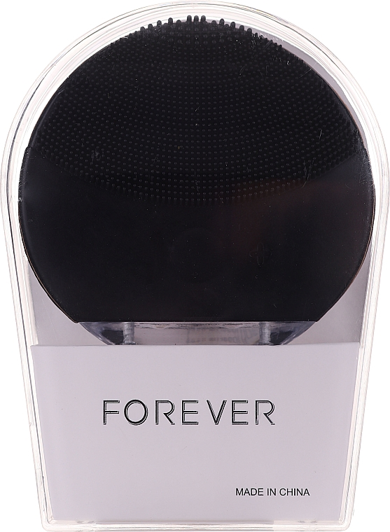 Kefa na čistenie tváre, čierna - Forever Lina Facial Cleansing Brush Black