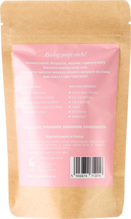 "Telový peeling káva ""Šťavnaté jahody"" - Love Your Body Peeling  — Obrázky N2"
