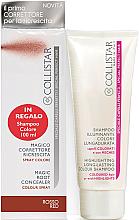 Voňavky, Parfémy, kozmetika Zestaw - Collistar Special Perfect Hair Magic Root Concealer Red (shm/100 ml + concealer/75ml)