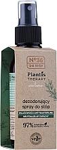 Voňavky, Parfémy, kozmetika Dezodorant v spreji na nohy - Pharma CF No.36 Plantis Therapy Foot Spray