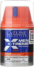 Voňavky, Parfémy, kozmetika Krém-gél pre tvár - Eveline Cosmetics Men X-Treme Power Cream-Gel 6In1