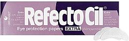 Voňavky, Parfémy, kozmetika Papierové podložky pod mihalnice (80ks) - RefectoCil Eye Protection Papers Extra
