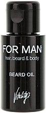 Voňavky, Parfémy, kozmetika Olej pre bradu - Vitality's For Man Beard Oil
