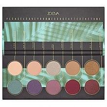 Voňavky, Parfémy, kozmetika Paleta očných tieňov - Zoeva Offline Eye Shadow Palette