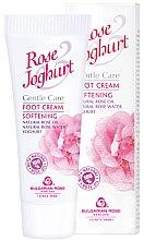 Voňavky, Parfémy, kozmetika Krém na nohy zmäkčujúci - Bulgarian Rose Rose & Joghurt Foot Cream