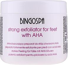 Voňavky, Parfémy, kozmetika Silný odlupujúci prostriedok na nohy - BingoSpa Strong Exfoliant for Feet with AHA