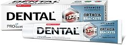 Voňavky, Parfémy, kozmetika Zubná pasta na dôkladné čistenie zubov - Dental Pro Ortho&Brackets