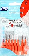 """Voňavky, Parfémy, kozmetika Medzizubná kefka """"červená"""", 0,5 mm - TePe Interdental Brushes Extra Soft"""