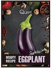 Voňavky, Parfémy, kozmetika Upokojújuca maska - Quret Beauty Recipe Mask Eggplant Soothing