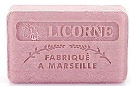 """Voňavky, Parfémy, kozmetika Marseillské mydlo """"Jednorožec"""" - Foufour Savonnette Marseillaise Licorne"""