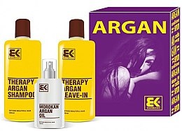 Voňavky, Parfémy, kozmetika Sada - Brazil Keratin Therapy Argan (shm/300ml + cond/300ml + oil/100ml)