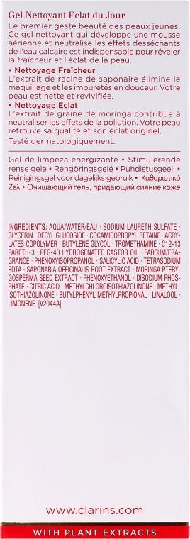 Čistiaci gél - Clarins Daily Energizer Cleansing Gel — Obrázky N3