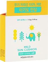 Voňavky, Parfémy, kozmetika Opaľovací krém vankúš - Holika Holika Mild Sun Cushion SPF45