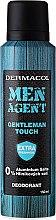 Voňavky, Parfémy, kozmetika Deodorant v spreji - Dermacol Men Agent Gentleman Touch Deodorant