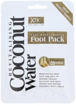 Maska-ponožky pre starostlivosť o nohy - Xpel Marketing Ltd Coconut Water Foot Pack — Obrázky N1
