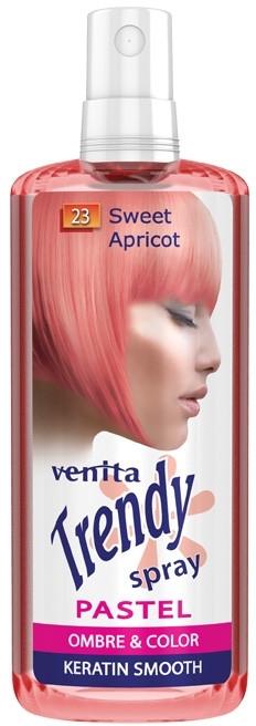 Tónovací sprej na vlasy - Venita Trendy Pastel Spray