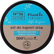 Voňavky, Parfémy, kozmetika Soľ na nohy - Pharma CF No.36 Plantis Therapy Foot Bath Salt
