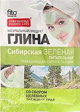 """Voňavky, Parfémy, kozmetika Hlina na tvár a telo """"Sibírsky"""", zelená - Fitokosmetik"""