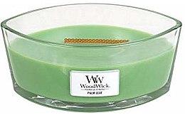 Voňavky, Parfémy, kozmetika Vonná sviečka v pohári - WoodWick Hearthwick Flame Ellipse Candle Palm Leaf