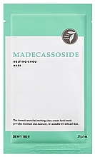 Voňavky, Parfémy, kozmetika Pleťová maska s výťažkom z pupočníka ázijského - Dewytree Madecassoside Melting Chou Mask