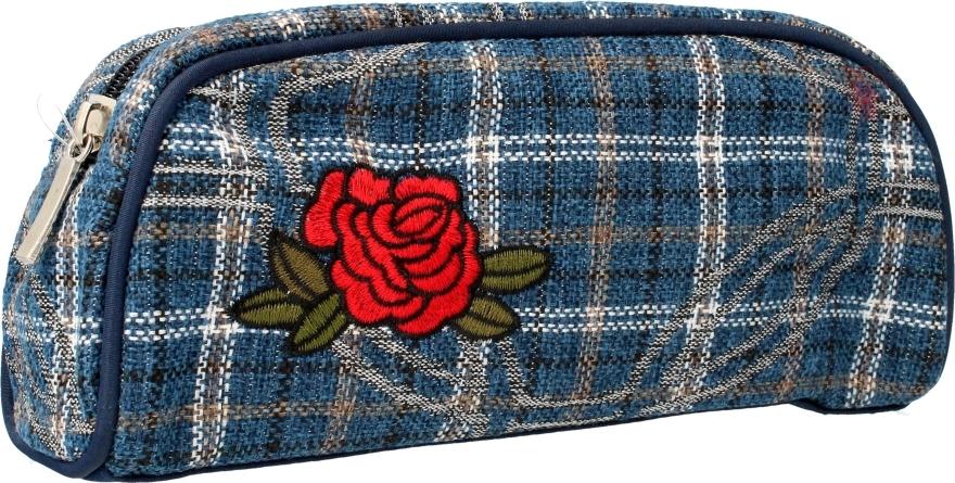 """Kozmetická taška """"Rose"""", 95801, modrá - Top Choice — Obrázky N1"""