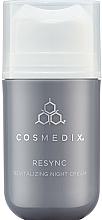 Voňavky, Parfémy, kozmetika Regeneračný nočný krém na tvár - Cosmedix Resync Revitalizing Night Cream