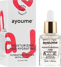 Voňavky, Parfémy, kozmetika Hydratačný olej na tvár - Ayoume Moisturizing & Hydrating Face Oil With Olive