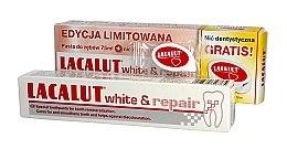 Voňavky, Parfémy, kozmetika Sada - Lacalut White & Repair Set (t/paste/75ml+dental/floss)