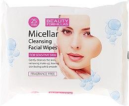 Voňavky, Parfémy, kozmetika Čistiace micelárne obrúsky - Beauty Formulas Micellar Cleansing Facial Wipes