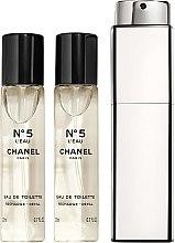 Voňavky, Parfémy, kozmetika Chanel N5 L'Eau Purse Spray Refills - Toaletná voda (vymeniteľná jednotka)