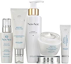 Voňavky, Parfémy, kozmetika Sada - Oriflame NovAge Bright Sublime (gel/200ml+eye/cr/15ml+ser/30ml+d/cr/50ml+n/cr/50ml)
