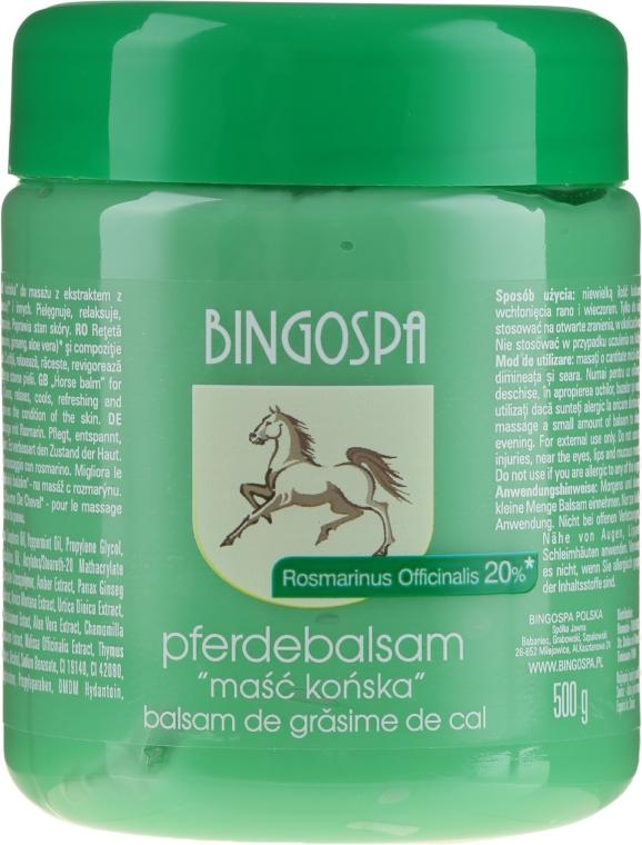 Koňská maska s extraktom rozmarínu - BingoSpa