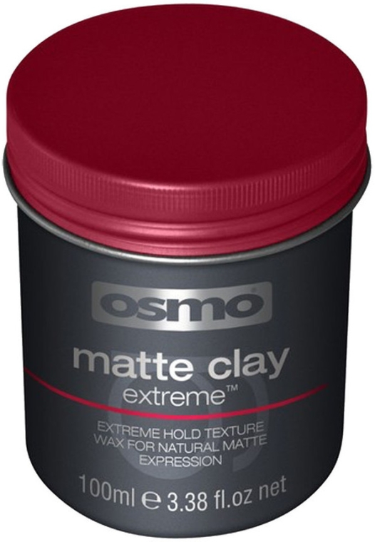 Hlina-vosk s extra silnou fixáciou - Osmo Matte Clay Extreme