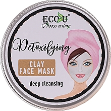 """Voňavky, Parfémy, kozmetika Maska na tvár """"Hĺbkové čistenie"""" - Eco U Detoxifying Deep Cleansing Clay Face Mask"""