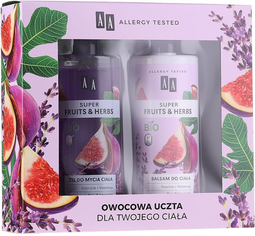 Sada - AA Super Fruits&Herbs Set (sh/gel/500ml + b/lot/500ml)