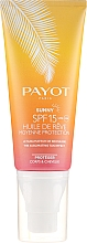 Voňavky, Parfémy, kozmetika Suchý opaľovací olej na telo a vlasy - Payot Sunny The Sublimating Tan Effect Body and Hair SPF15