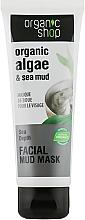 "Voňavky, Parfémy, kozmetika Maska na tvár ""Morské hĺbky"" - Organic Shop Mud Mask Face"