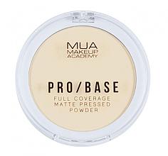 Voňavky, Parfémy, kozmetika Kompaktný zmatňujúci púder na tvár - MUA Pro-Base Full Coverage Matte Pressed Powder