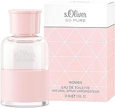 Voňavky, Parfémy, kozmetika S. Oliver So Pure Women - Toaletná voda