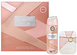 Voňavky, Parfémy, kozmetika Armaf Le Parfait Pour Femme - Sada (edp/100ml + deo/spray/200ml)