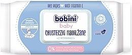 Voňavky, Parfémy, kozmetika Detské obrúsky s vitamínom E - Bobini