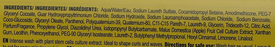 Šampón s kmeňovými bunkami pre kučeravé vlasy - Abril et Nature Stem Cells Gold Lifting Shampoo — Obrázky N3