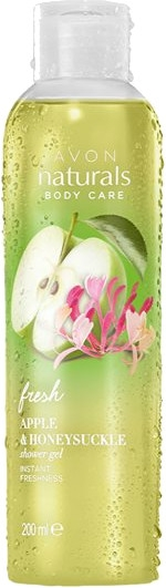 Sprchový gél s vôňou čerstvého jablka a zimolezu - Avon Naturals