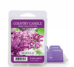 Voňavky, Parfémy, kozmetika Vosk na aromatickú lampu - Country Candle Fresh Lilac Wax Melts