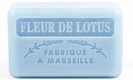 "Voňavky, Parfémy, kozmetika Marselské mydlo ""Lotosový kvet"" - Foufour Savonnette Marseillaise Fleur De Lotus"