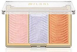 Voňavky, Parfémy, kozmetika Paleta rozjasňovačov na tvár - Milani Stellar Lights Highlighter Palatte