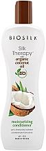 Voňavky, Parfémy, kozmetika Hydratačný kondicionér s kokosovým olejom - Biosilk Silk Therapy Coconut Oil Moisture Conditioner